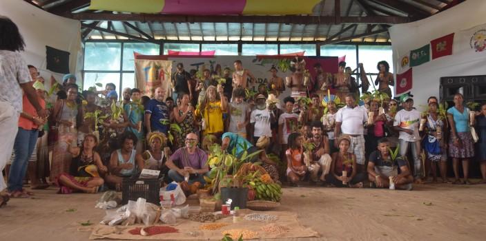 Encerramento da V Jornada de Agroecologia da Bahia. Foto: Lua